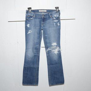 Hollister destroyed womens jeans size 5 S 276